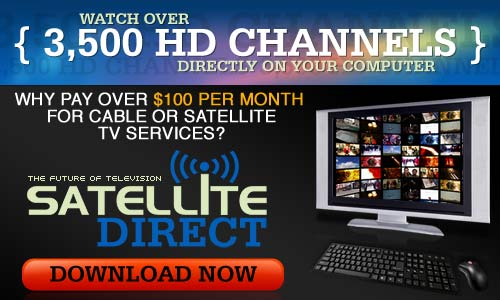 Watch Live TV with Satellite Direct